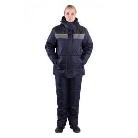 Утепленная женская куртка для работы Вега
