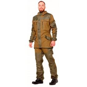 Костюм Горка-Премиум утепленный на флисовой подкладке мужской цвет хаки