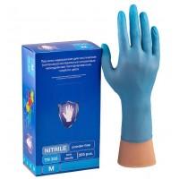 Перчатки смотровые процедурные нитриловые неопудренные нестерильные