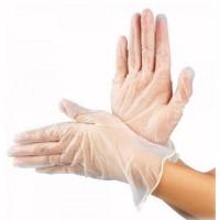 Перчатки виниловые неопудренные