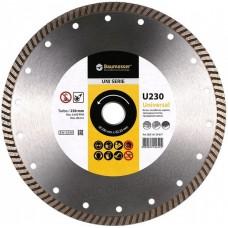 Алмазный диск Baumesser Turbo Universal 115мм