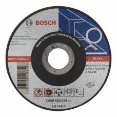 Отрезной круг прямой BOSCH Expert for Metal 115мм