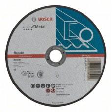 Отрезной круг прямой BOSCH Expert for Metal 180мм
