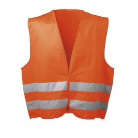 Жилет светоотражающий оранжевый с СОП