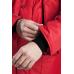 Утепленная куртка  Диксон красная с черной отделкой