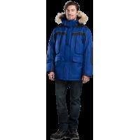 Куртка зимняя синяя Диксон