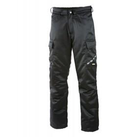 Утепленные брюки для работы Dimex 6037 черного цвета