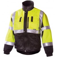 Зимняя сигнальная куртка Dimex 6350