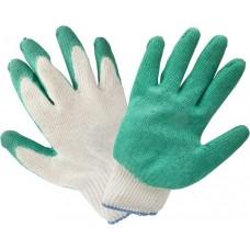 Купить перчатки хб одинарный облив ПВХ  по Санкт-Петербургу и Ленинградской области с доставкой