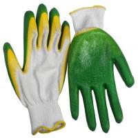 Перчатки хб двойной облив ПВХ