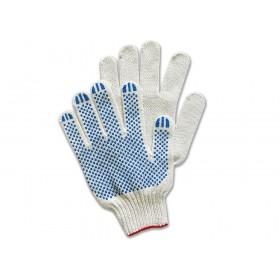 Купить перчатки хб 5 нити 10 класс ПВХ точка в Санкт-Петербурге и Ленинградской области с доставкой