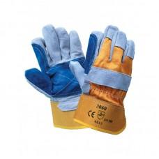 Перчатки спилковые комбинированные DOKER