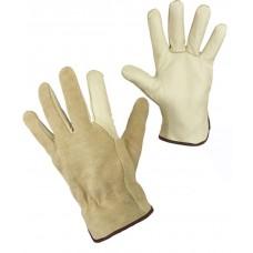 Перчатки кожаные комбинированные PONDOSA