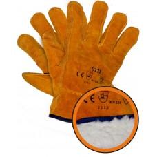 Перчатки цельноспилковые с искусственным мехом
