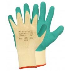 Перчатки вязаные с латексом Alagon